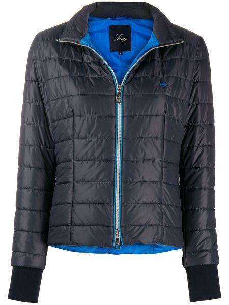 Куртка с карманами синий Fay