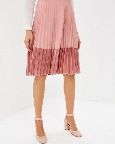 Розовая юбка широкая Pinko