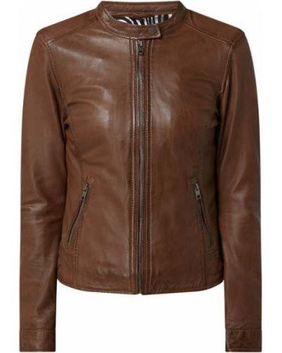 Brązowa kurtka bawełniana Oakwood