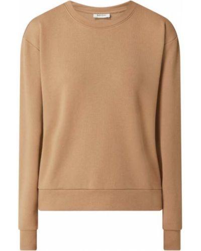 Bluza bawełniana - brązowa Modström
