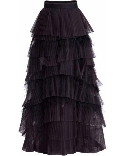 Юбка макси из фатина шелковая Brunello Cucinelli