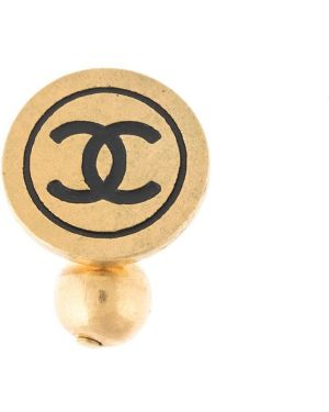 Запонки Chanel Pre-owned