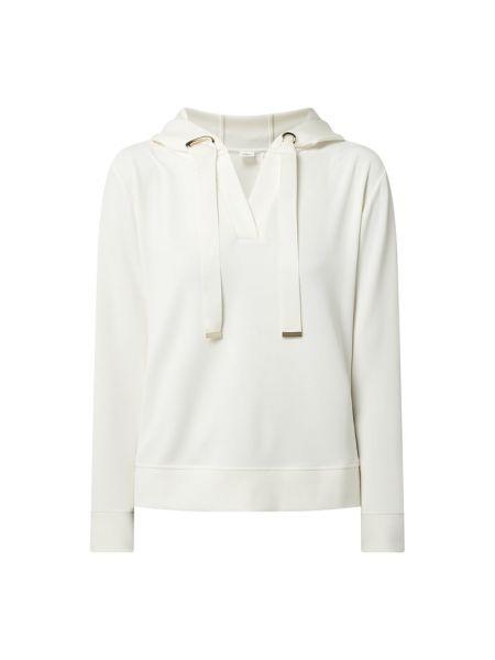 Bluza z kapturem - biała S.oliver Black Label