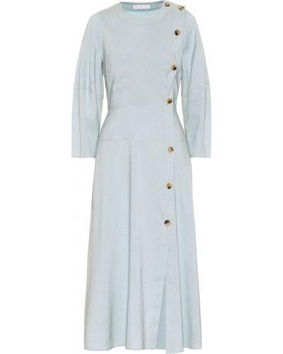 Платье миди с завышенной талией на пуговицах Rejina Pyo
