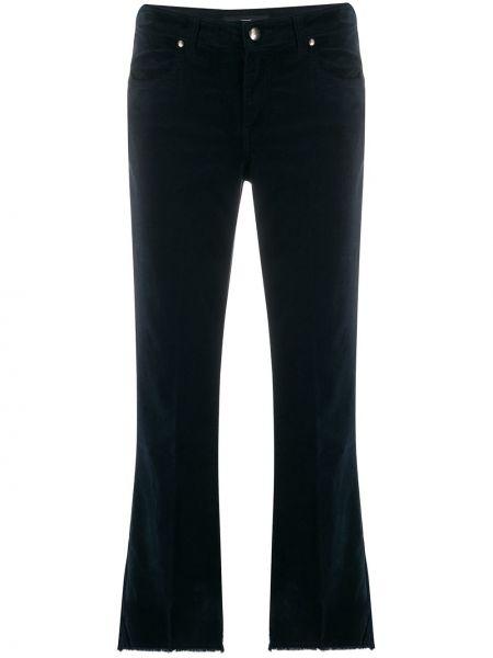 Расклешенные джинсы с бахромой на пуговицах Fay
