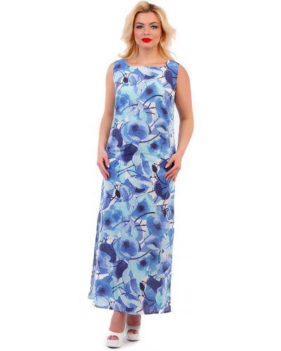 Летнее платье с цветочным принтом на молнии Liza Fashion