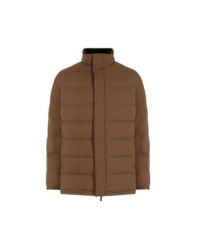 Коричневая куртка короткая Castello D'oro