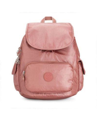 Różowy plecak miejski Kipling