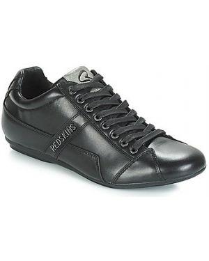 Buty skórzane czarne Redskins