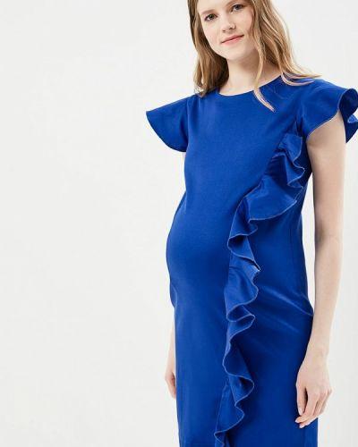 Платье весеннее синее Mammysize