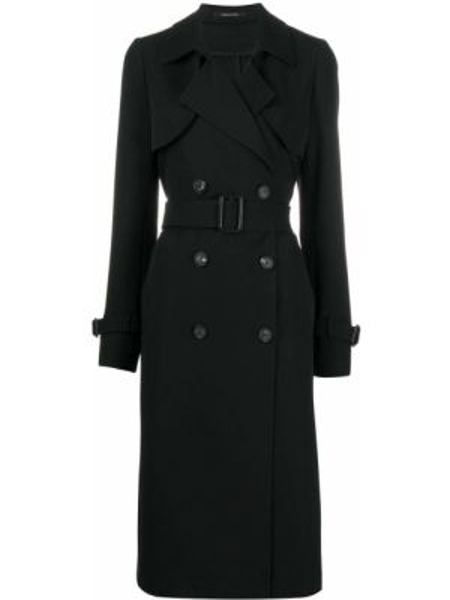 Długi płaszcz z kieszeniami podwójnie Tagliatore