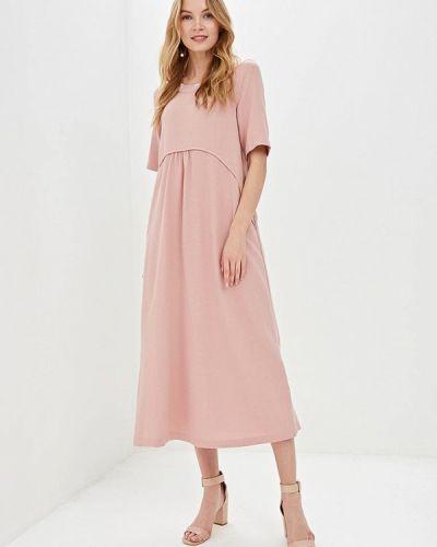 Платье розовое прямое мадам т