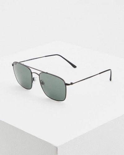 Солнцезащитные очки черные итальянский Giorgio Armani