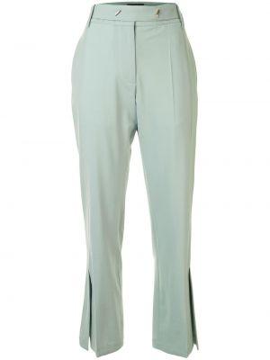 Укороченные брюки - зеленые Eudon Choi