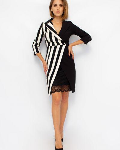 Платье с воротником - белое Bodyform