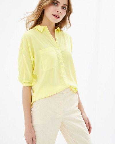 Блузка с длинным рукавом желтый весенний Vilatte