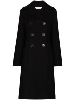 Шерстяное пальто - черное See By Chloé