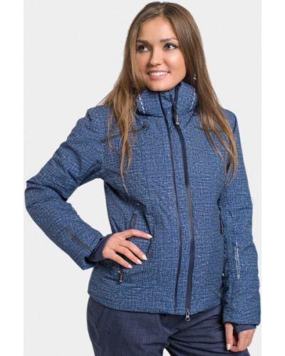 Синяя куртка горнолыжная Avecs