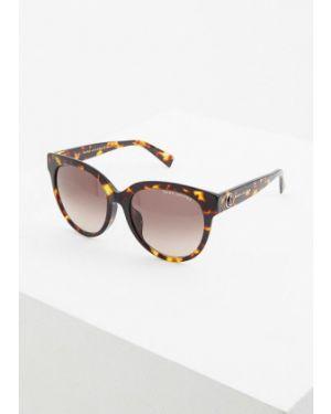 Солнцезащитные очки круглые коричневый Marc Jacobs