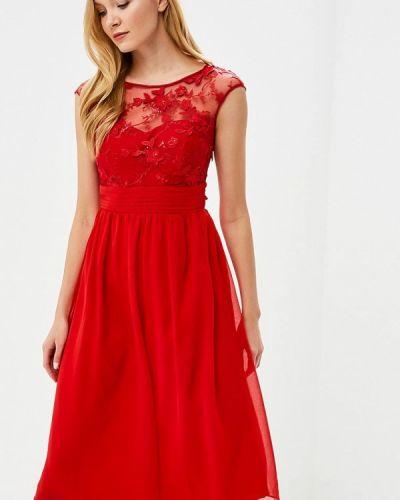 Красное платье Goddiva