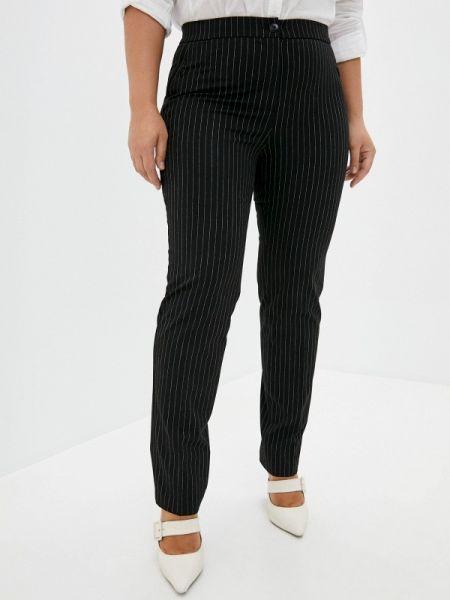 Зауженные черные брюки Antiga
