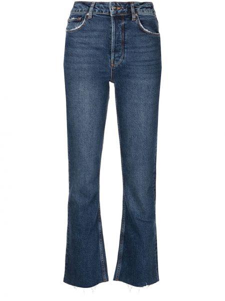 Синие джинсы с карманами Anine Bing