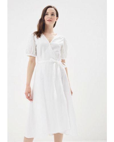Белое платье с запахом Gap