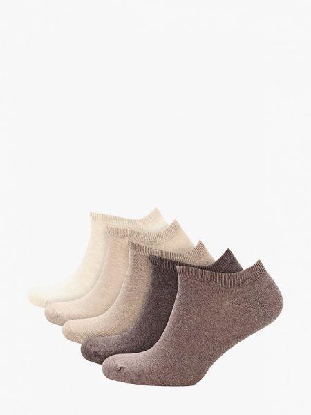 Бежевые укороченные носки Marks & Spencer