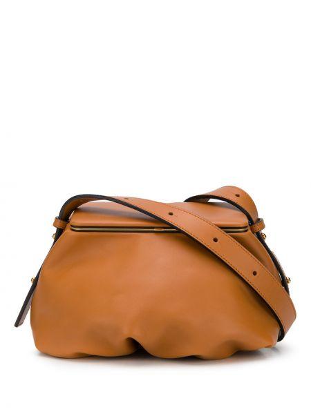 Brązowa torebka skórzana Lutz Morris