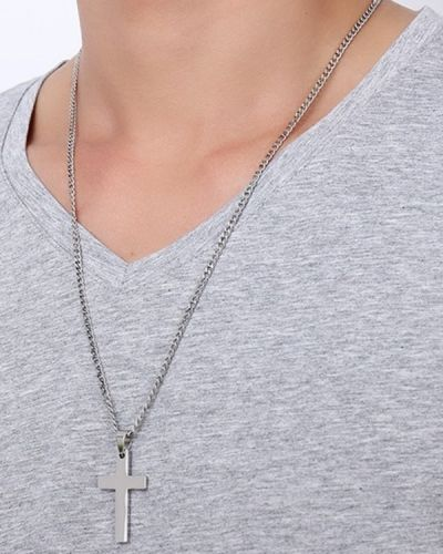 Серебряное ожерелье Zaful