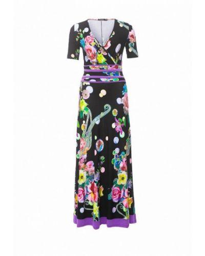 Платье вязаное черное мадам т
