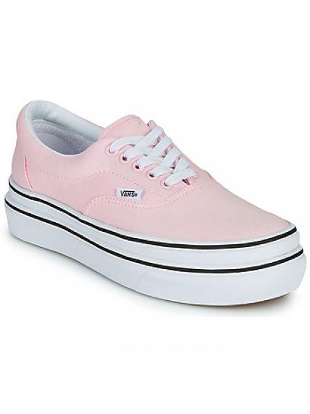 Różowy buty Vans