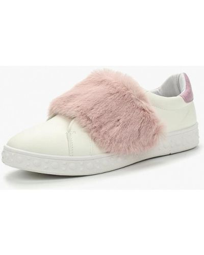 Низкие кеды с мехом из искусственной кожи Ideal Shoes®