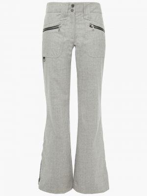 Spodnie wełniane rozkloszowane Erin Snow
