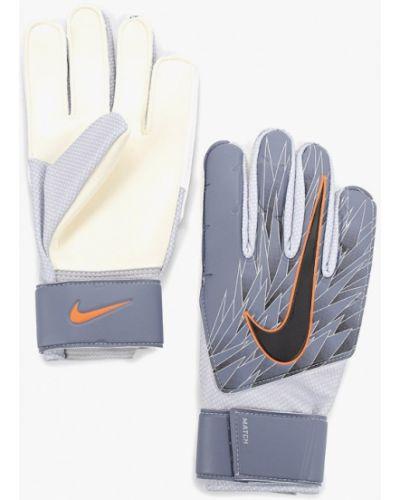 Перчатки серые весенние Nike