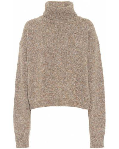 Beżowy kaszmir sweter Tibi