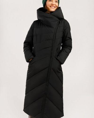 Пальто с капюшоном - черное Finn Flare