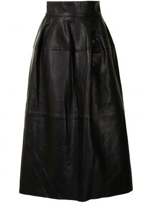 Czarna spódnica rozkloszowana Maticevski