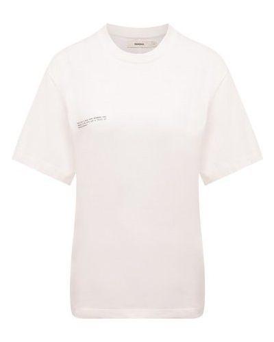 Хлопковая футболка Pangaia