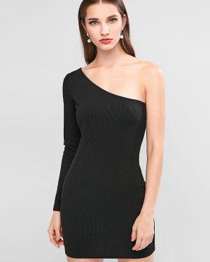 Облегающее платье на одно плечо через плечо Zaful