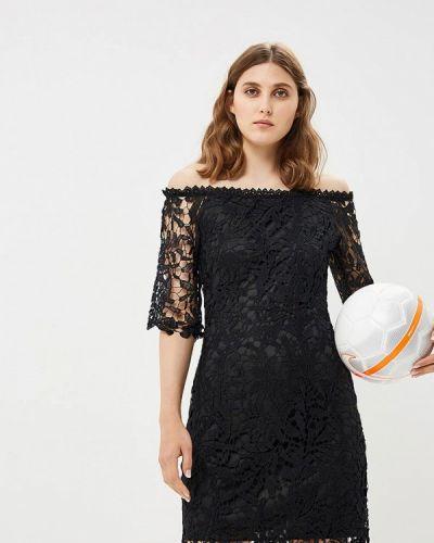 Черное платье осеннее By Swan