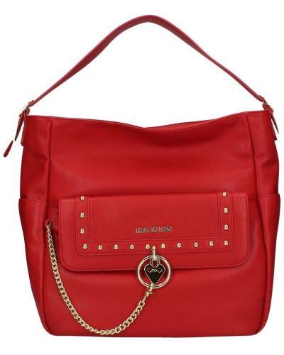 Czerwona torba na ramię Love To Love