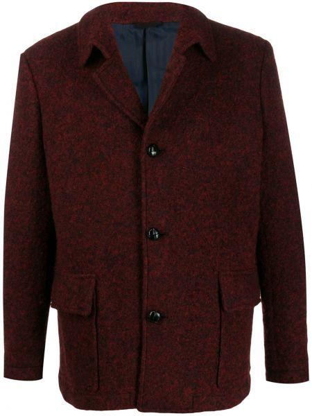 Płaszcz wełniany z długimi rękawami Mp Massimo Piombo