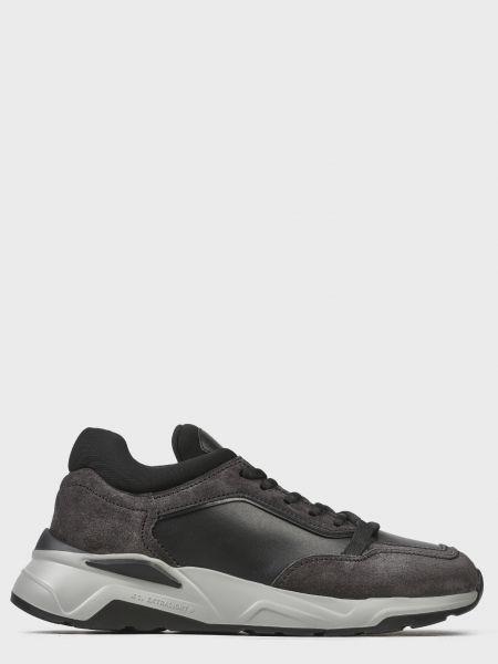 Кожаные кроссовки - серые Fabi