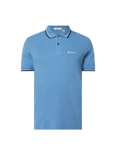 T-shirt bawełniana - turkusowa Ben Sherman