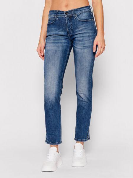 Mom jeans granatowe Calvin Klein