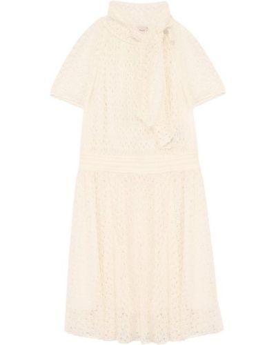 Платье мини на пуговицах из вискозы Missoni