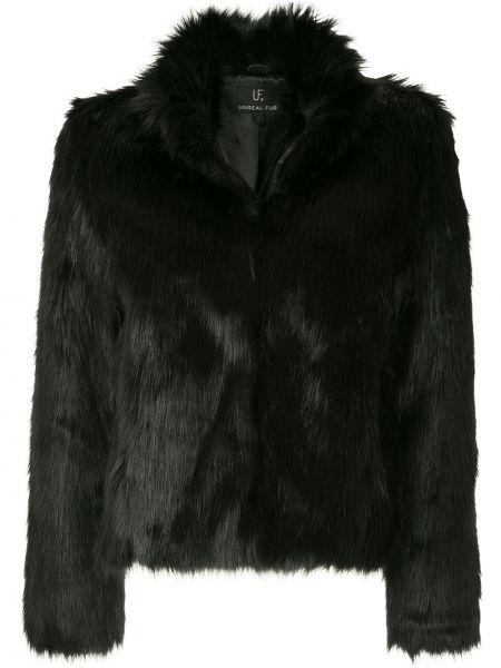 Czarna kurtka Unreal Fur