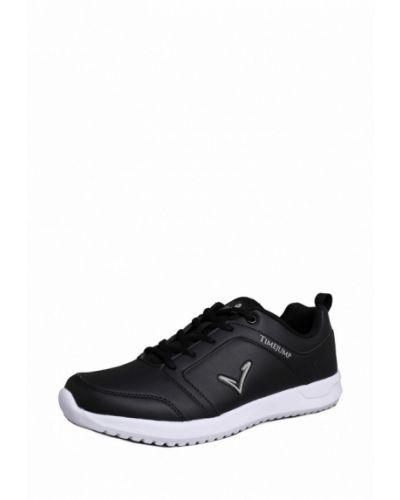 Черные кроссовки из искусственной кожи Timejump