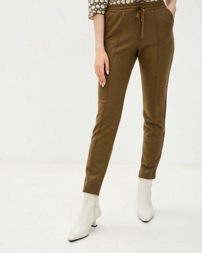 Зеленые брюки Stefanel